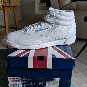 Reebok hightop sneakers
